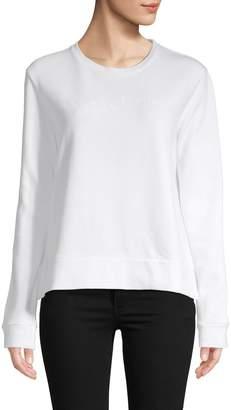 French Connection Crewneck Cotton Sweatshirt