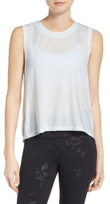 Women's Under Armour Breathe Muscle Tee $44.99 thestylecure.com