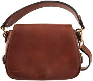 Polo Ralph Lauren Brown Leather Handbag
