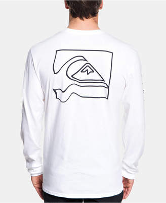 Quiksilver Men Graphic Long-Sleeve T-Shirt
