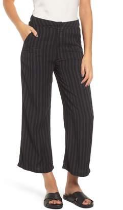 RVCA Power Wide Leg Crop Pants