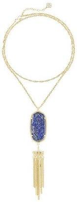 Kendra Scott Rayne Long Pendant Necklace $90 thestylecure.com