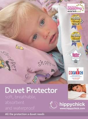 Hippy Chick BabyCenter Hippychick Single Duvet Protector (White, 135x200cm)