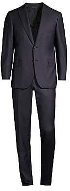 Brioni Men's Regular-Fit Pinstripe Single-Breasted Wool Suit