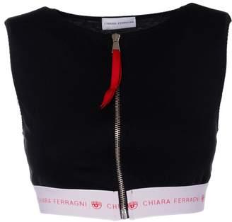Chiara Ferragni Zipped Crop Top
