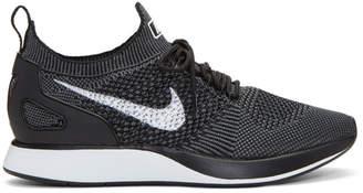 Nike Black Air Zoom Mariah Flyknit Racer Sneakers