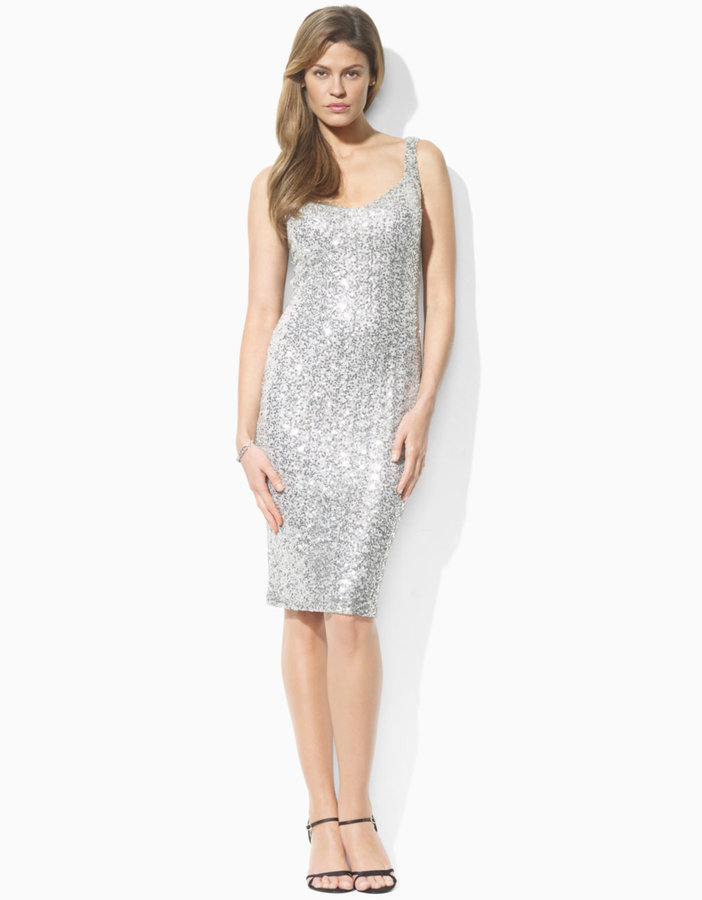 LAUREN RALPH LAUREN Sequined Lizanne Dress