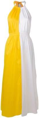 Mara Hoffman colour block maxi dress