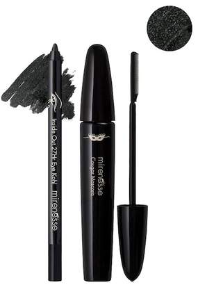 Mirenesse Smokey Khol Eye Duo - Cougar 24hr Mascara Comb & Black Khol Liner 2-Piece Set