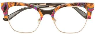 Etro printed cat-eye glasses
