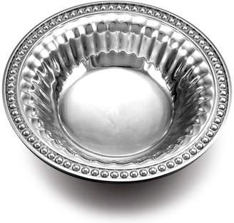 Wilton Armetale Flutes & Pearls Snack Bowl