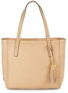 Cole Haan Ivy Pic Stitch Leather Tote Bag