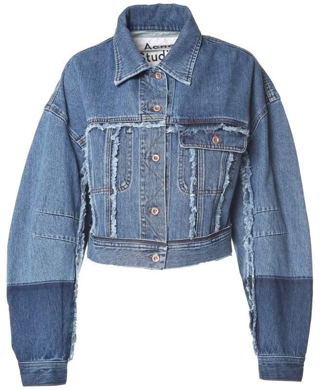 Kremi Denim Cropped Jacket