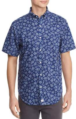Vineyard Vines Murray Short-Sleeve Floral-Print Slim Fit Button-Down Shirt