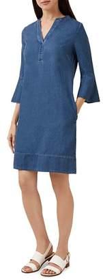 Hobbs London Natasha Chambray Shift Dress