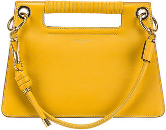 Givenchy Small Whip Bag in Yellow Curry | FWRD