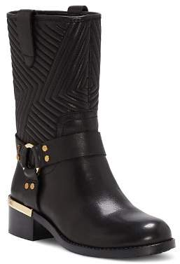 Vince Camuto Women's Walden Round Toe Leather Booties