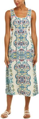 Ella Moss Cutout Midi Dress