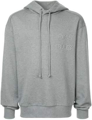 Juun.J Forget the Rules hoodie