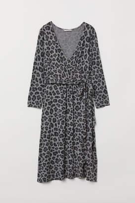 H&M MAMA Jersey Dress - Gray
