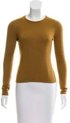 Oscar de la Renta Cashmere & Silk Knit Sweater