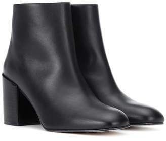 Stuart Weitzman Coban leather ankle boots