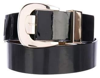 MICHAEL Michael Kors Patent Leather Waist Belt