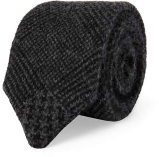 Ralph Lauren Glen Plaid Knit Cashmere Tie