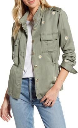 Rails Sahara Daisy Embroidery Utility Jacket