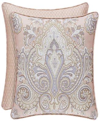 "Sloane Royal Court Blush 18"" Square Bedding"