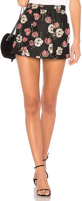 RED Valentino Floral Mini Skirt
