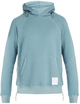 Satisfy Jogger cotton-jersey hooded sweatshirt