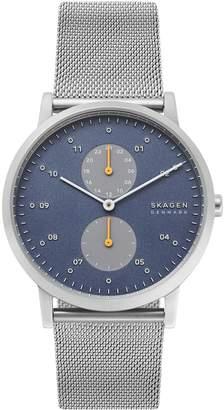 Skagen Kristoffer Stainless Steel Mesh-Strap Watch