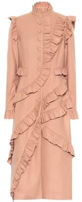Ulla Johnson Ruffled wool coat