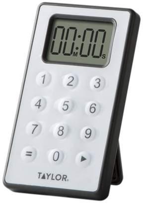 Taylor Digital 10 Key Calculator Timer