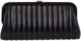 One Kings Lane Vintage Chanel Vertical Quilted Black Clutch