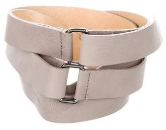 Wolford Leather Waist Belt