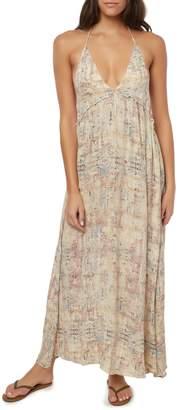 O'Neill Silana Halter Maxi Dress