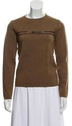 Dolce & Gabbana Wool Knit Sweater Brown Wool Knit Sweater