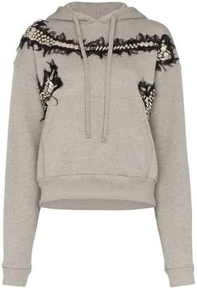 Charles Jeffrey Loverboy appliqué embroidered hoodie