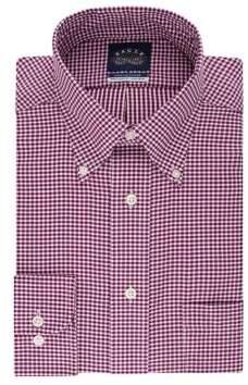 Eagle Regular-Fit Checkered Dress Shirt