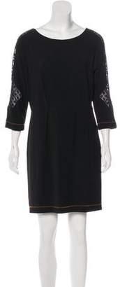Rag & Bone Three-Quarter-Sleeve Knee-Length Dress