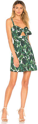 Milly Banana Leaf Jordan Mini Dress