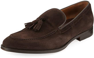 Bruno Magli Men's Fabiolo Suede Tassel Loafers