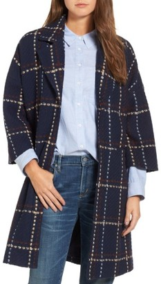 Women's Halogen Plaid Topper $169 thestylecure.com