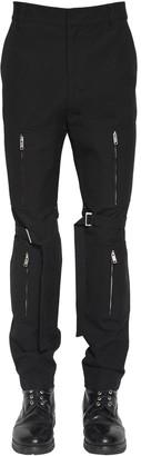 Ambush Bondage Zipper Cotton Pants