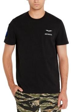 Avirex Men's Sleeve Patch T-Shirt