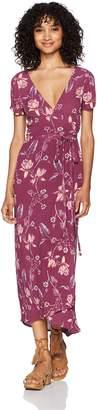 Billabong Women's Wrap Dress
