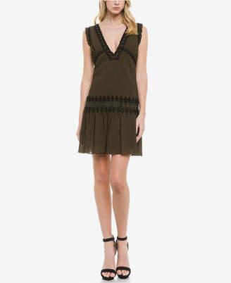 Endless Rose Empire Waist Dress with Ruffle Detail