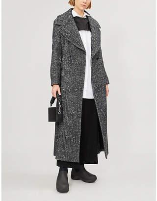 Limi Feu Marled wool-blend coat